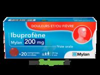 Ibuprofene Mylan 200 Mg, Comprimé Enrobé à Orléans