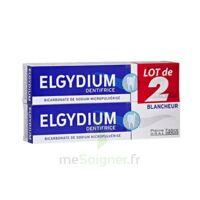 Elgydium Dentifrice Duo Blancheur Tube 2x75ml à Orléans