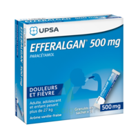Efferalgan 500 Mg Glé En Sachet Sach/16 à Orléans