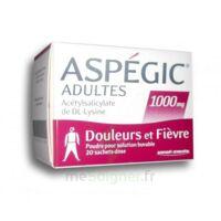Aspegic Adultes 1000 Mg, Poudre Pour Solution Buvable En Sachet-dose 20 à Orléans