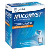 Mucomyst 200 Mg Poudre Pour Solution Buvable En Sachet B/18 à Orléans