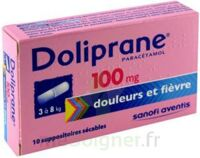 Doliprane 100 Mg Suppositoires Sécables 2plq/5 (10) à Orléans
