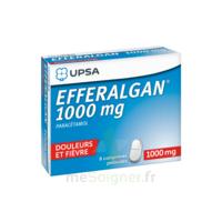 Efferalgan 1000 Mg Comprimés Pelliculés Plq/8 à Orléans