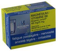 Magnesium/vitamine B6 Biogaran Conseil 48 Mg/5 Mg, Comprimé Pelliculé à Orléans