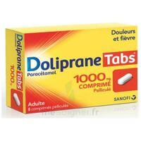 Dolipranetabs 1000 Mg Comprimés Pelliculés Plq/8 à Orléans