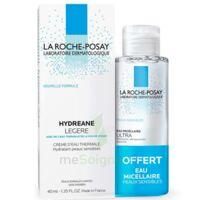 Hydreane Légère Crème Hydratante Peau Normale à Mixte 40ml+eau Micellaire 50ml à Orléans