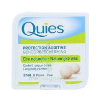 Quies Protection Auditive Cire Naturelle 8 Paires à Orléans