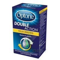 Optone Double Action Solution Oculaire Yeux Irrités Fl/10ml à Orléans