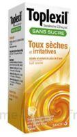 Toplexil 0,33 Mg/ml Sans Sucre Solution Buvable 150ml à Orléans