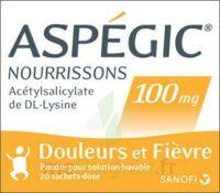 Aspegic Nourrissons 100 Mg, Poudre Pour Solution Buvable En Sachet-dose à Orléans