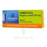 Ambroxol Biogaran Conseil 30 Mg, Comprimé Sécable à Orléans