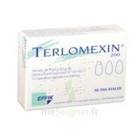 Terlomexin 200 Mg, Capsule Molle Vaginale à Orléans