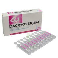 Dacryoserum Solution Pour Lavage Ophtalmique En Récipient Unidose 20unidoses/5ml à Orléans