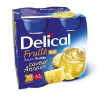 Delical Boisson Fruitee Nutriment Ananas 4bouteilles/200ml à Orléans