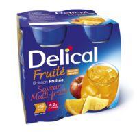 Delical Boisson Fruitee Nutriment Multi Fruits 4bouteilles/200ml à Orléans