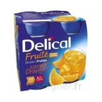 Delical Boisson Fruitee Nutriment Orange 4bouteilles/200ml à Orléans