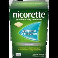 Nicorette 2 Mg Gom à Mâcher Médic Sans Sucre Menthe Fraîche Plq/105gom à Orléans