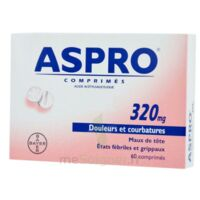 Aspro 320 Mg, Comprimé à Orléans