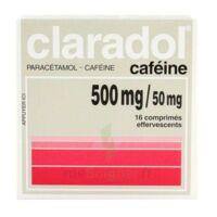 Claradol Cafeine 500 Mg/50 Mg, Comprimé Effervescent à Orléans