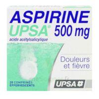 Aspirine Upsa 500 Mg, Comprimé Effervescent à Orléans