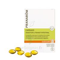 Pranarom Oleocaps 3 Caps Digestion & Transit Intestinal à Orléans
