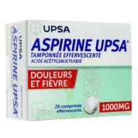 Aspirine Upsa Tamponnee Effervescente 1000 Mg, Comprimé Effervescent à Orléans
