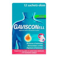 Gavisconell Suspension Buvable Sachet-dose Menthe Sans Sucre 12sach/10ml à Orléans