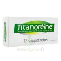 Titanoreine Suppositoires B/12 à Orléans
