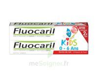 Fluocaril Kids Gel Dentifrice Fraise 0/6ans 2*50ml à Orléans