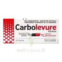Carbolevure Gélules Adulte Plq/30 à Orléans