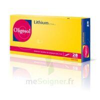 Oligosol Lithium Solution Buvable En Ampoule Ou En Récipient Unidose 28amp/2ml à Orléans