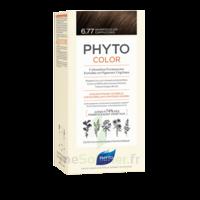 Phytocolor Kit Coloration Permanente 6.77 Marron Clair Cappuccino à Orléans