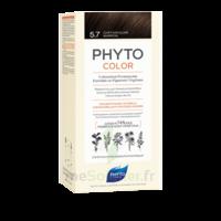 Phytocolor Kit Coloration Permanente 5.7 Châtain Clair Marron à Orléans