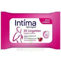 Intima Gyn'expert Lingettes Cranberry Paquet/30 à Orléans