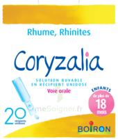 Boiron Coryzalia Solution Buvable Unidose B/20 à Orléans