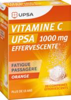 Vitamine C Upsa Effervescente 1000 Mg, Comprimé Effervescent à Orléans