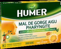 Humer Pharyngite Pastille Mal De Gorge Miel Citron B/20 à Orléans