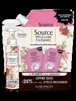 Garancia Source Micellaire Enchantée Rose 2 Recharges/400ml + Flacon/100ml Offert à Orléans
